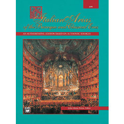 Italian Arias of the Baroque and Classical Eras - Low Voice