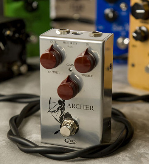 View larger image of J. Rockett Archer Boost Overdrive Pedal