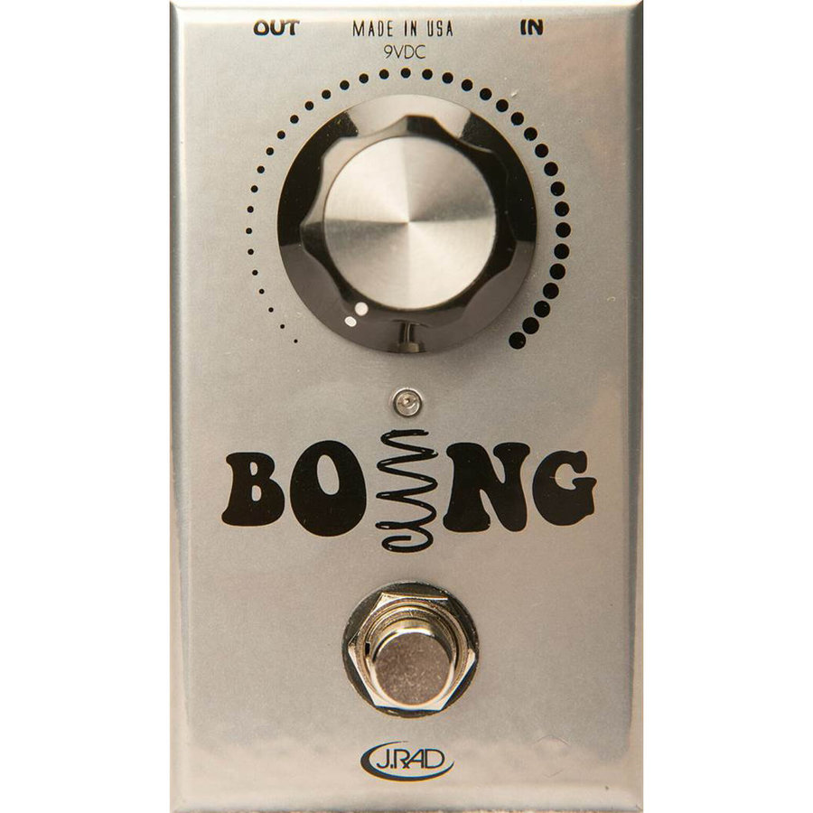 View larger image of J. Rockett Boing Spring Reverb Pedal