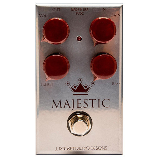 View larger image of J. Rockett Majestic Overdrive Pedal