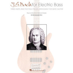 J.S. Bach For Electric Bass - Book Only