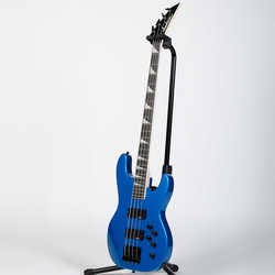 Jackson JS Series Concert JS3 Bass Guitar - Amaranth, Metallic Blue