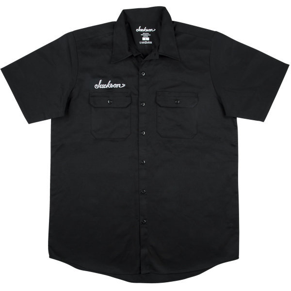 View larger image of Jackson Logo Work Shirt - Black, Men's Small