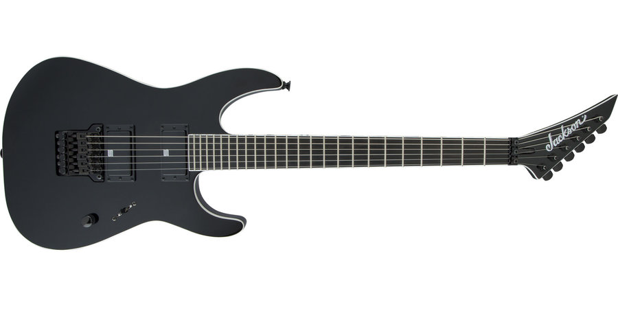 View larger image of Jackson Pro Series Signature Mick Thomson Soloist SL2 Electric Guitar - Ebony, Gloss Black
