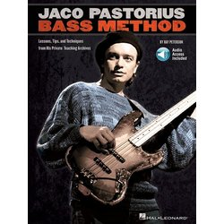 Jaco Pastorius Bass Method w/Online Audio