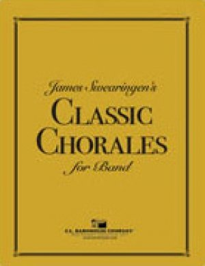 View larger image of James Swearingen's Classic Chorales for Band - Clarinet 1/2