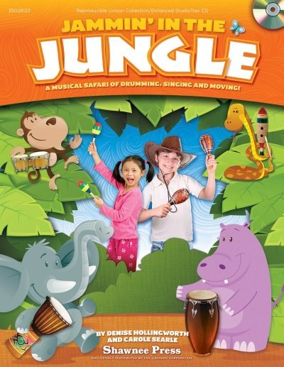 View larger image of Jammin In The Jungle, Repro Collection, Unison - Book/CD
