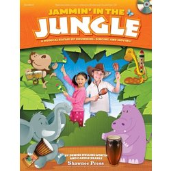 Jammin In The Jungle, Repro Collection, Unison - Book/CD