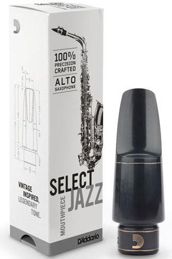 View larger image of D'Addario Jazz Alto Saxophone Mouthpiece - D5M