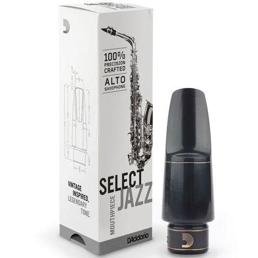 View larger image of D'Addario Jazz Alto Saxophone Mouthpiece - D6M