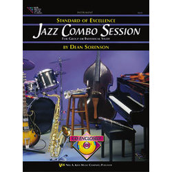 Jazz Combo Session w/CD - Bass