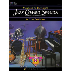 Jazz Combo Session w/CD - Flute