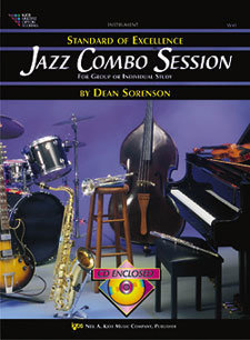 View larger image of Jazz Combo Session w/CD - Tenor Sax/Trumpet