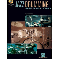 Jazz Drumming in Big Band & Combo w/CD