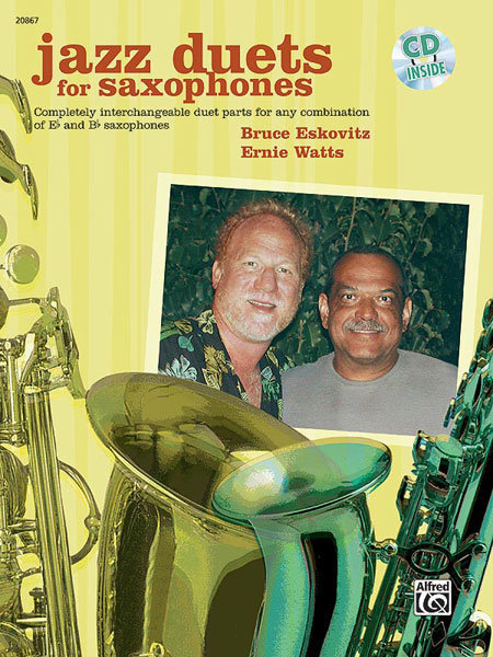 View larger image of Jazz Duets for Saxophone w/CD