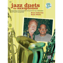 Jazz Duets for Saxophone w/CD