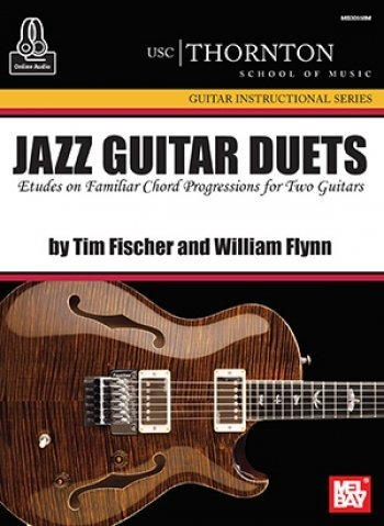 View larger image of Jazz Guitar Duets (USC) Book/Online Audio