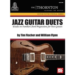 Jazz Guitar Duets (USC) Book/Online Audio