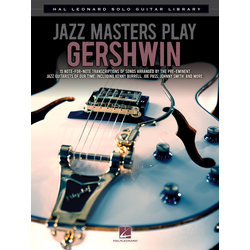 Jazz Masters Play Gershwin, for guitar solo