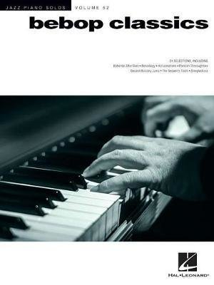 View larger image of Jazz Piano Solos Series Volume 52: Bebop Classics