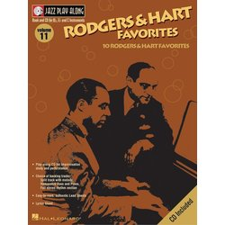 Jazz Play Along Vol.11 - Rodgers & Hart Favorites w/CD