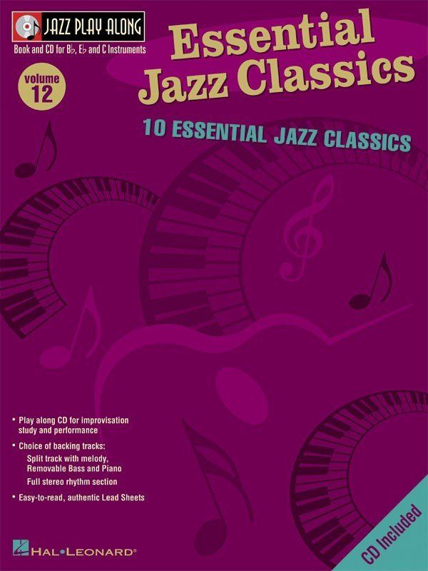 View larger image of Jazz Play Along Vol.12 - Essential Jazz Classics w/CD
