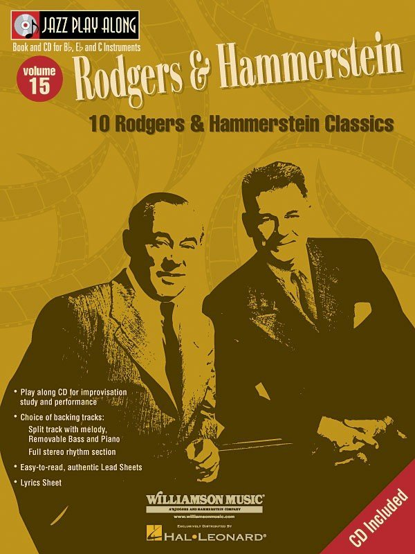 View larger image of Jazz Play Along Vol.15 - Rodgers & Hammerstein w/CD
