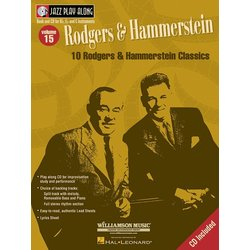 Jazz Play Along Vol.15 - Rodgers & Hammerstein w/CD