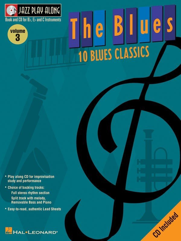 View larger image of Jazz Play Along Vol.3 - The Blues w/CD