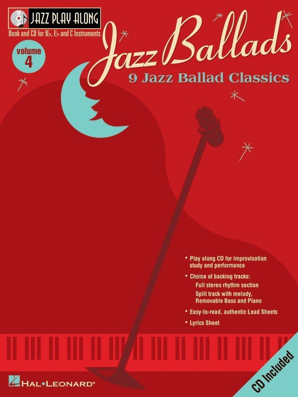 View larger image of Jazz Play Along Vol.4 - Jazz Ballads w/CD