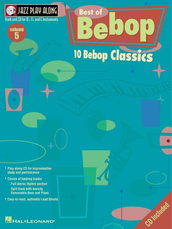 View larger image of Jazz Play Along Vol.5 - Best of Bebop w/CD