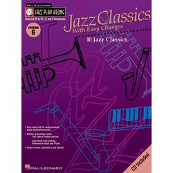 Jazz Play Along Vol.6 - Jazz Classics With Easy Changes w/CD