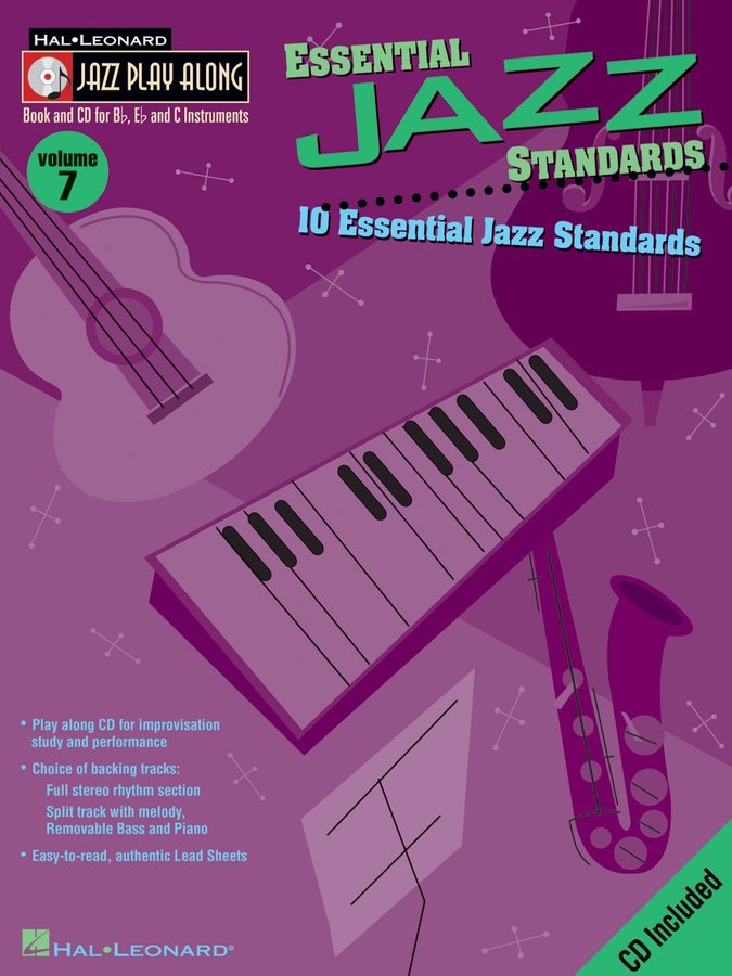 View larger image of Jazz Play Along Vol.7 - Essential Jazz Standards w/CD