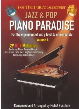 View larger image of Jazz & Pop Piano Paradise Volume 4