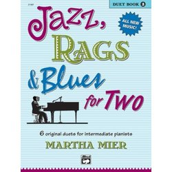 Jazz, Rags & Blues for Two, Book 2 (1P4H)
