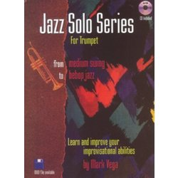 Jazz Solos Series for Trumpet w/CD