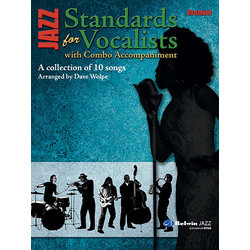 Jazz Standards for Vocalists w/ Combo Accomp - Drum Set