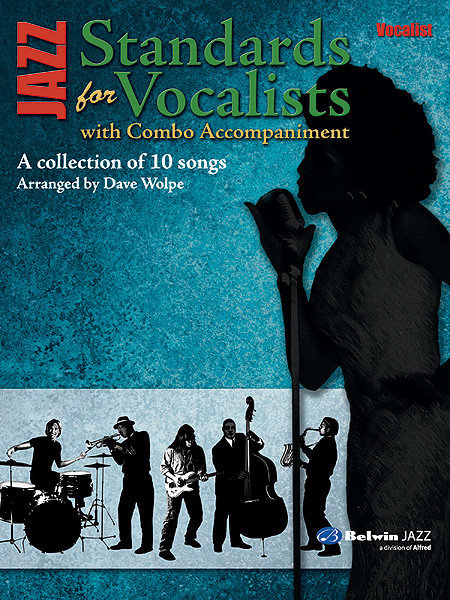 View larger image of Jazz Standards for Vocalists w/ Combo Accomp - Vocal Part