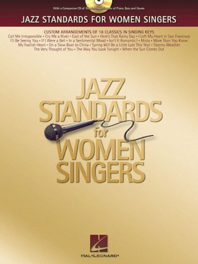 View larger image of Jazz Standards for Women Singers w/CD