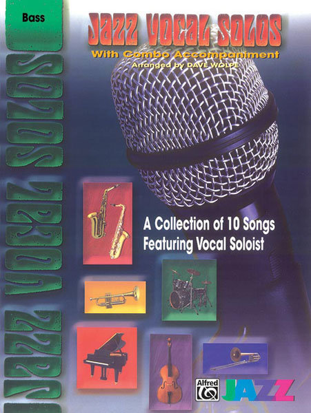 View larger image of Jazz Vocal Solos with Combo Accompaniment - Bass