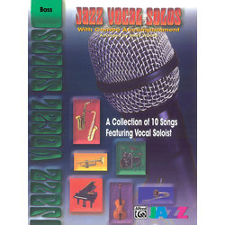 Jazz Vocal Solos with Combo Accompaniment - Bass