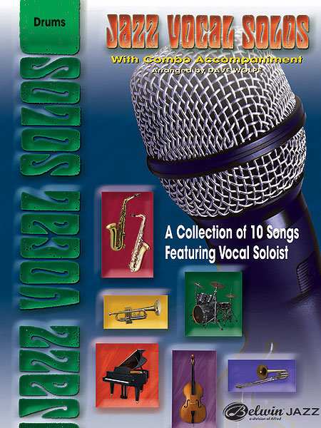 View larger image of Jazz Vocal Solos with Combo Accompaniment - Drums