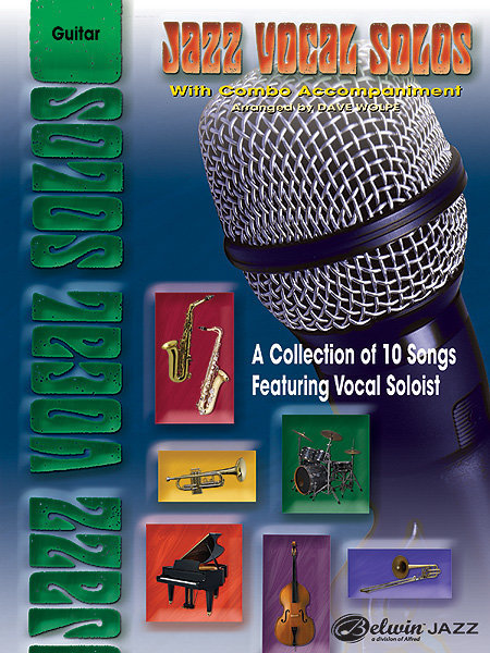 View larger image of Jazz Vocal Solos with Combo Accompaniment - Guitar