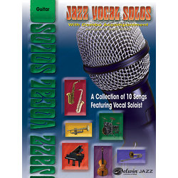 Jazz Vocal Solos with Combo Accompaniment - Guitar