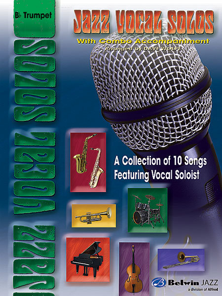View larger image of Jazz Vocal Solos with Combo Accompaniment - Trumpet