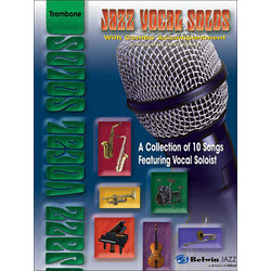 Jazz Vocal Solos with Combo Accompaniment - Vocal Solo