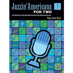 Jazzin' Americana for Two, Book 1 (1P4H)