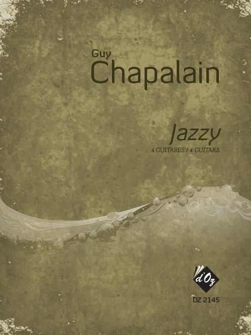 View larger image of Jazzy (Chapalain) - Guitar Quartet