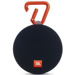 JBL Clip 2 Waterproof Portable Bluetooth Speaker - Black