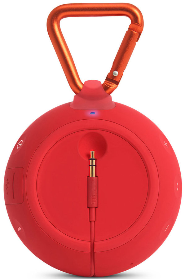 View larger image of JBL Clip 2 Waterproof Portable Bluetooth Speaker - Red